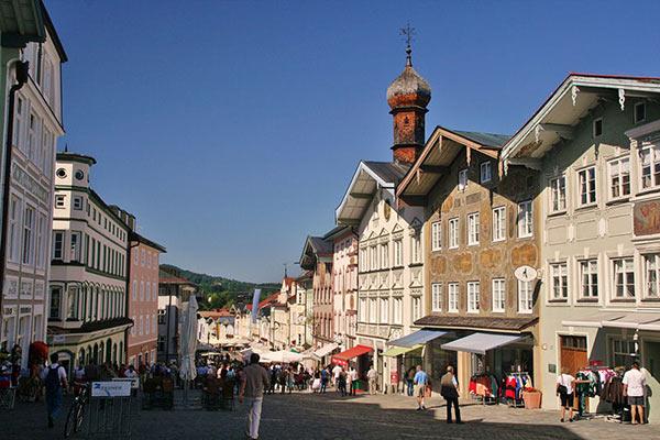 Fußgängerzone Marktstraße Bad Tölz